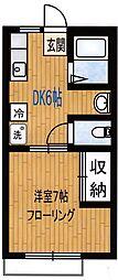 グランドハイツ3[1階]の間取り