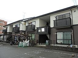 愛媛県松山市枝松2丁目の賃貸アパートの外観
