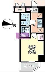 エルスタンザ大口[305号室]の間取り