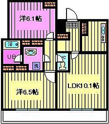 グランガーデンII[2階]の間取り