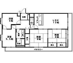 オルティア塚口[107号室号室]の間取り画像