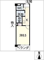 アルカディアVIII[2階]の間取り