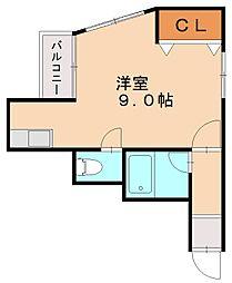 JIJI[1階]の間取り