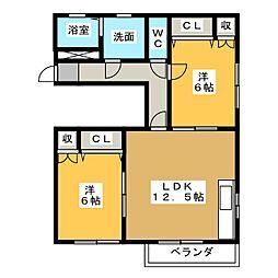 Casa de  Ossi[3階]の間取り