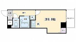 プレサンス京都清水[201号室号室]の間取り