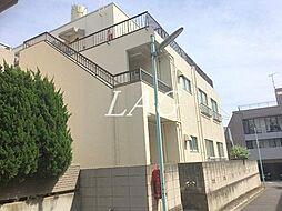 東京都板橋区常盤台1丁目の賃貸マンションの外観