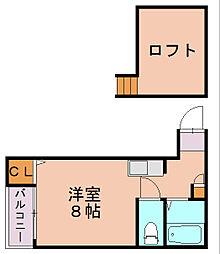 コンフォート駅南[1階]の間取り