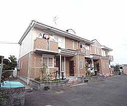 京都府京都市右京区嵯峨野東田町の賃貸アパートの外観