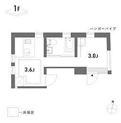 新築 荘[111号室号室]の間取り