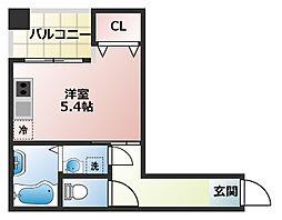 (仮称)船橋市宮本3丁目共同住宅[201号室]の間取り