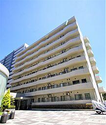 宮城県仙台市若林区清水小路の賃貸マンションの外観
