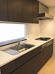 食洗機、浄水器付のキッチン