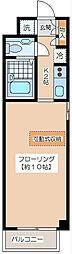 北沢スタディオス[3階]の間取り