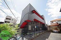大阪府東大阪市若江南町2丁目の賃貸アパートの外観