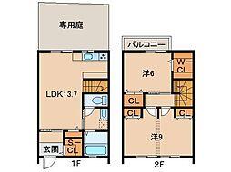 仮)La Ferio 栄谷第7A[2階]の間取り