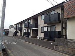 広島県福山市手城町1の賃貸アパートの外観