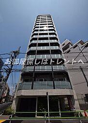東京都港区三田2丁目の賃貸マンションの外観