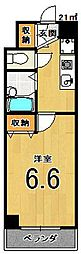ルピナスKOGOME[517号室]の間取り