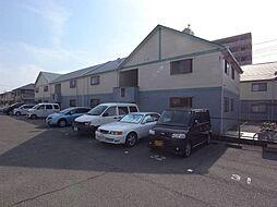 兵庫県明石市魚住町清水の賃貸アパートの外観