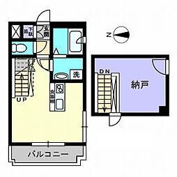 Tパラッツオ[5階]の間取り