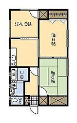 [一戸建] 宮崎県宮崎市恒久5丁目 の賃貸【/】の間取り