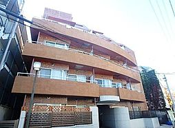 東京都板橋区栄町の賃貸マンションの外観