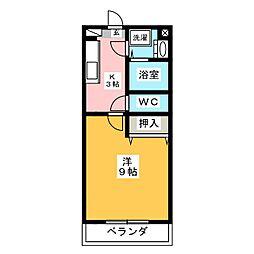 ララ・オンディーヌ[5階]の間取り