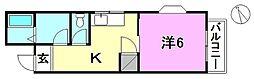 湯山コーポラス[301 号室号室]の間取り