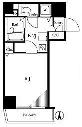 トーシンフェニックス目白弐番館[12階号室]の間取り