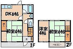 [テラスハウス] 広島県広島市安芸区畑賀3丁目 の賃貸【/】の間取り