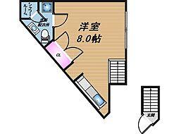 [テラスハウス] 大阪府吹田市東御旅町 の賃貸【/】の間取り