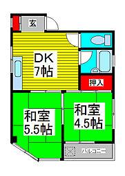 上青木コレクションハウス[3階]の間取り