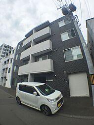 北海道札幌市豊平区平岸四条7丁目の賃貸マンションの外観