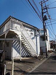 神奈川県横浜市金沢区寺前1丁目の賃貸アパートの外観