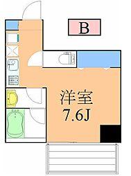 コルディア横濱サウス[102号室]の間取り