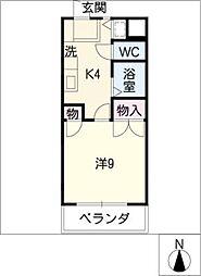 パッセ藤ケ丘[4階]の間取り