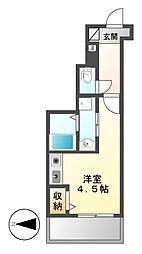 千代田VOGEL-1[3階]の間取り