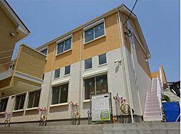 神奈川県川崎市多摩区西生田1丁目の賃貸アパートの外観