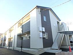 埼玉県鴻巣市吹上富士見1丁目の賃貸アパートの外観