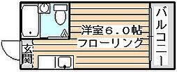ルネッサンスエレガンス[8階]の間取り