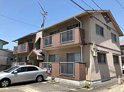 岡山県岡山市北区吉備津の賃貸マンションの外観