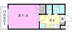 湯築ロジュマン1[302 号室号室]の間取り