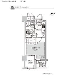 プライムアーバン池袋[7階]の間取り