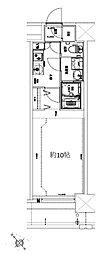 Osaka Metro堺筋線 天神橋筋六丁目駅 徒歩10分の賃貸マンション 8階1Kの間取り