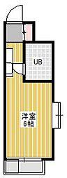 ジュネパレス新松戸第14[4階]の間取り