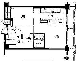 MUROMACHI PLACE[1103号室号室]の間取り