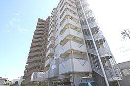 広島県福山市南蔵王町6の賃貸マンションの外観