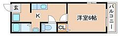 兵庫県神戸市須磨区天神町3丁目の賃貸マンションの間取り