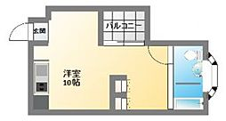スタジオアパートメントWK[7階]の間取り