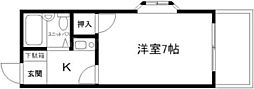 プロヴァンスマユミ[4階]の間取り